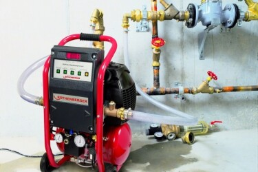 Промывка системы отопления