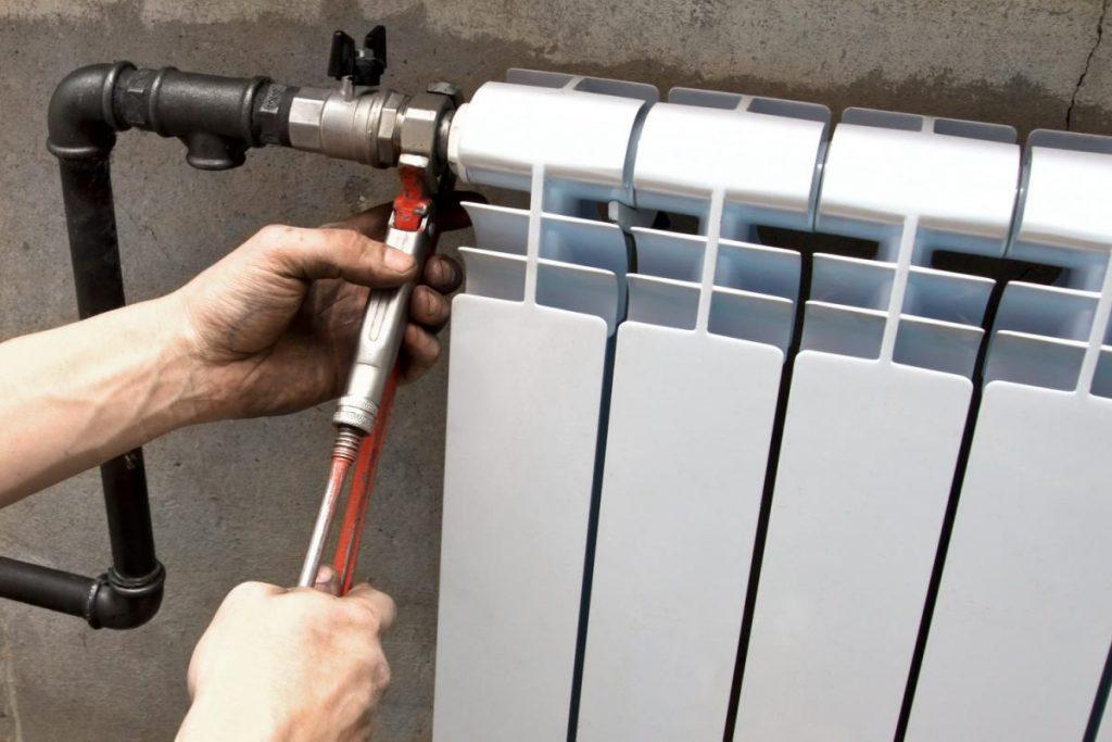 Ремонт радиатора отопления