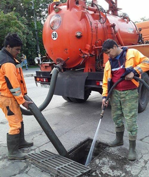 Методы прочистки ливневой канализации